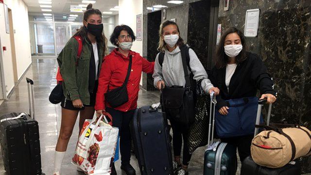 Sörvayvır ekibi Maltepe'deki karantina yurdundan ayrıldı